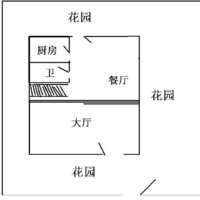 广州绿茵岛水岸别墅户型图