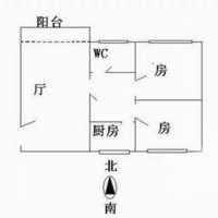 广州1号公馆户型图