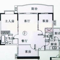 广州珠江太阳城广场户型图