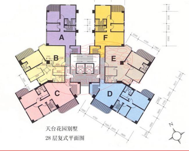 南浦花园房屋结构图