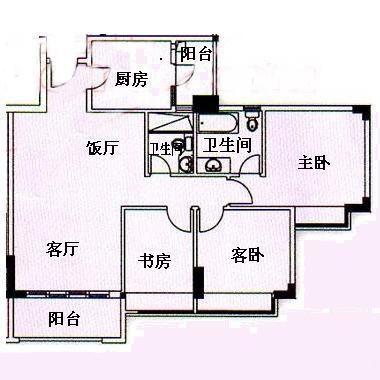广州华南理工果吧整体结构图