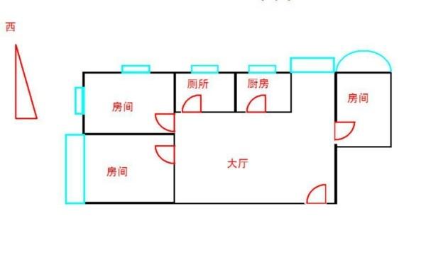 广州泽德花苑户型图