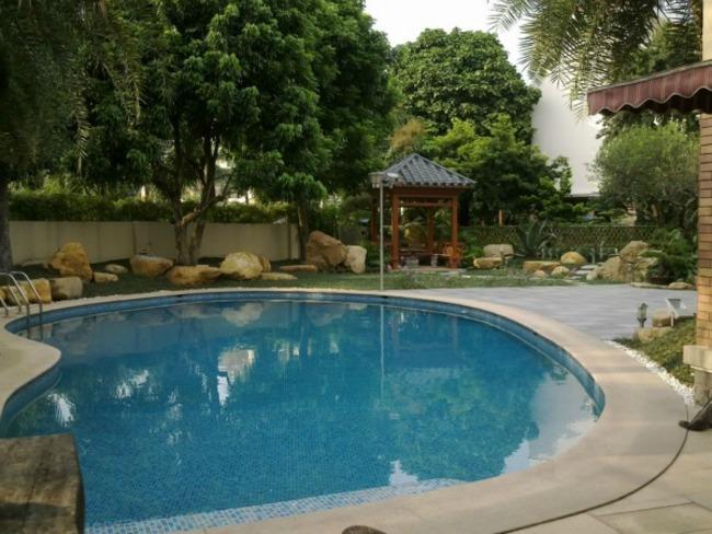 豪园别墅带游泳池出租 豪华装修 享受品味生活