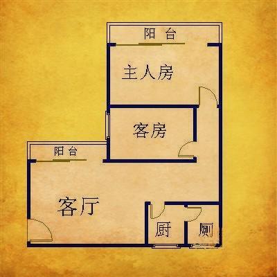 推推99广州房产网五一新村(广船宿舍)户型图