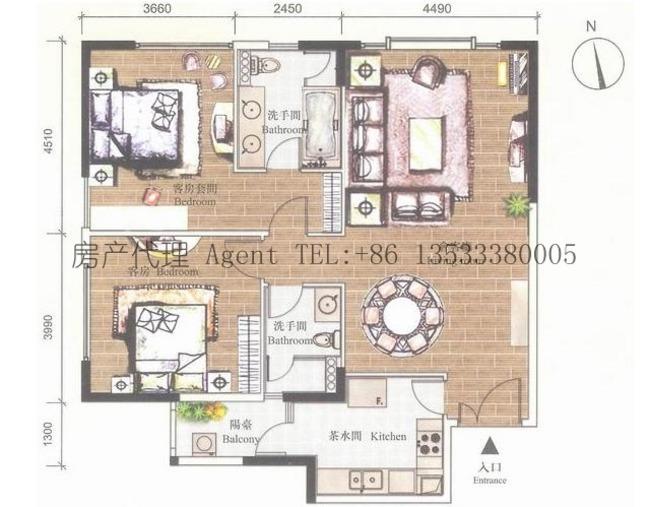 爱丁堡国际公寓 欧式豪华商务公寓 高级酒店服务 尊贵