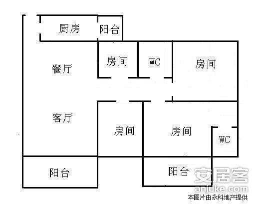 广州华南碧桂园户型图