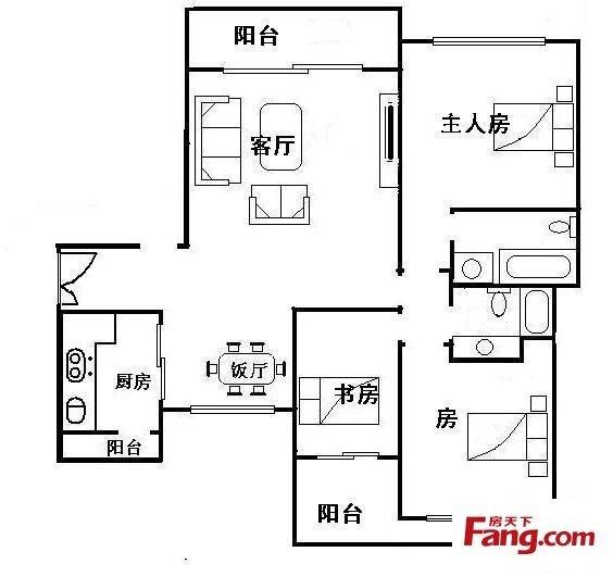 星河湾_户型图