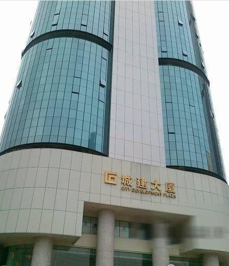 广州平洲人民楼外景图