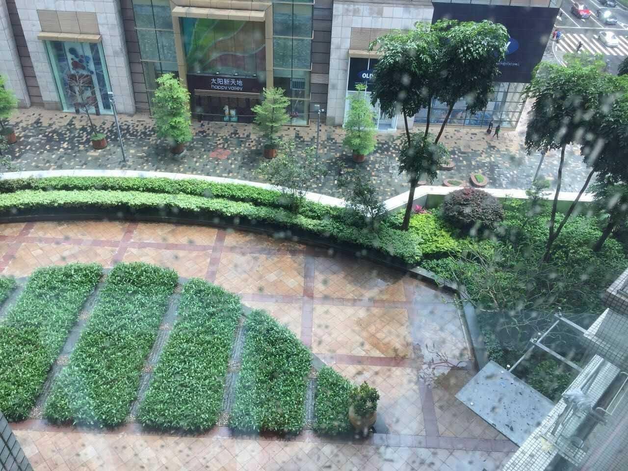 广州珠江太阳城广场外景图