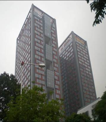 广州富力盈力大厦写字楼外景图