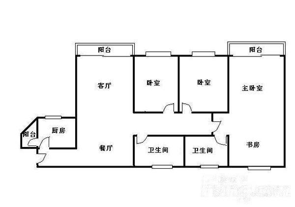 推推99广州房产网富力阳光美居户型图