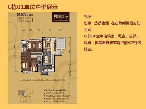 广州尚东君御户型图