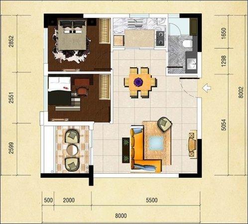 推推99广州房产网新城国际寓户型图