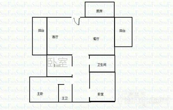 广州锦绣香江布查特官邸三期户型图