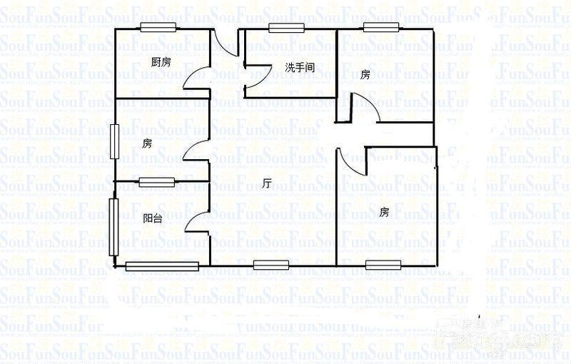 推推99广州房产网江南西紫金大街户型图