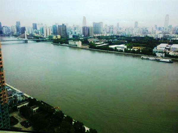 广州海珠半岛花园三期外景图
