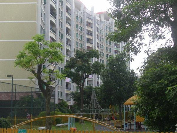 广州滨江绿园外景图