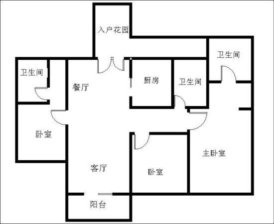 推推99广州房产网嘉裕公馆户型图
