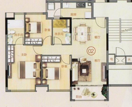 推推99广州房产网光大花园出租房房源图片