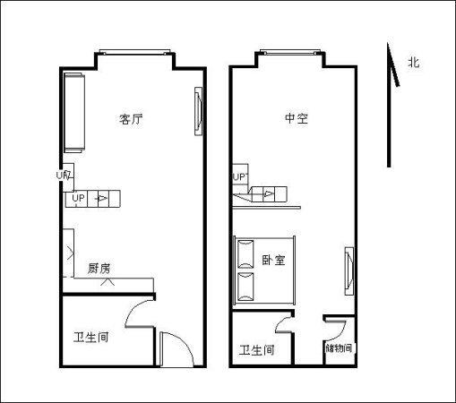 推推99广州房产网奥园城市天地出租房房源图片