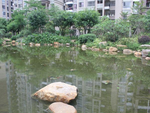 推推99广州房产网保利城花园外景图