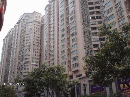 广州南北广场外景图