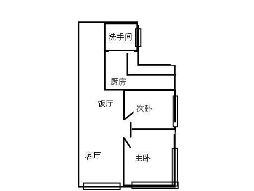 广州珠江新岸公寓户型图