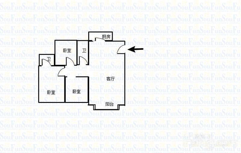 广州滨江绿园户型图
