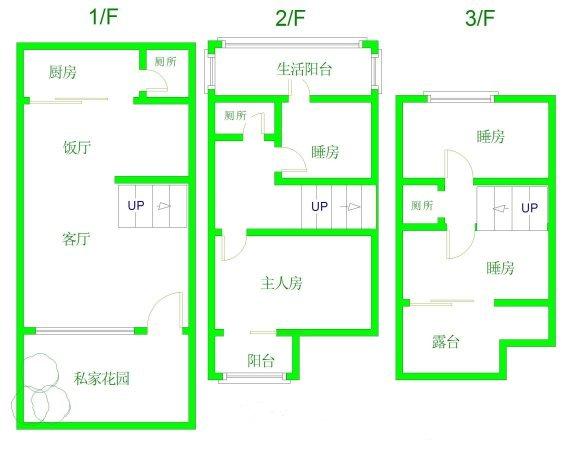 推推99广州房产网祈福新村A区户型图