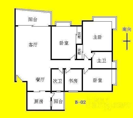 推推99广州房产网富力千禧花园三期户型图