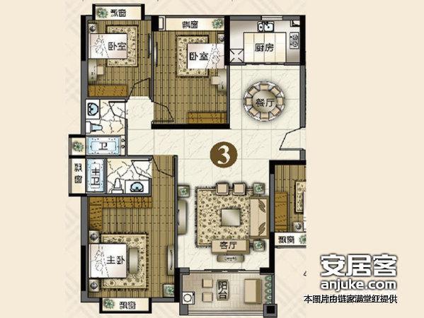 广州东怡新地户型图