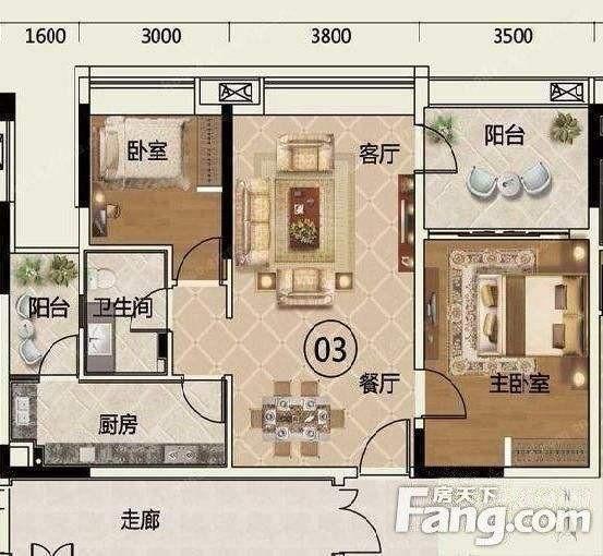 广州出租房房源图片